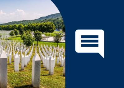 UK National Srebrenica Memorial Day